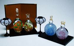 富山ガラス工房特別企画「ガラスの雛人形制作体験」