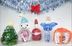 クリスマス特別企画「ガラスオーナメント制作体験」